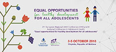 Equal Opportunities for Healthy Development for All Adolescents – November 2018